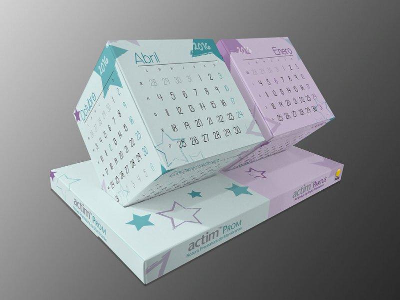 Calendario cúbico